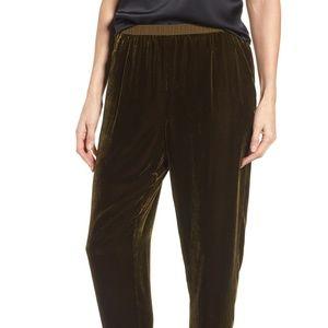 Eileen fisher velvet ankle length pants (362)